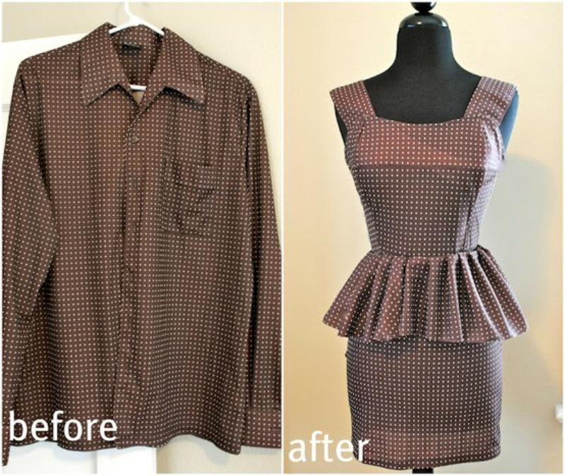 Как можно Переделать платье своими руками
